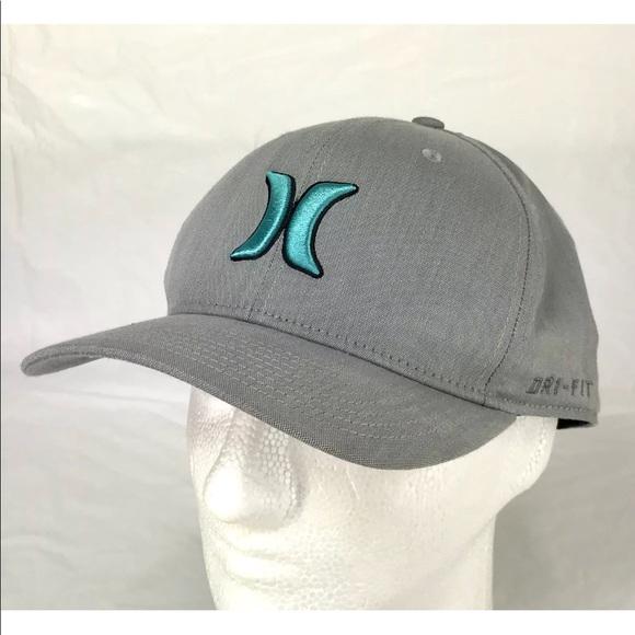 30470c6c4a4 Hurley Other - Hurley Nike Flex Fit Dri Fit Gray Phantom Cap Hat